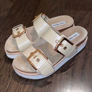 Steve Madden Buckle Slide Sandals